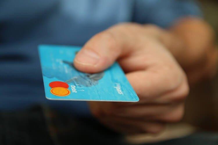 vendas no cartão de crédito