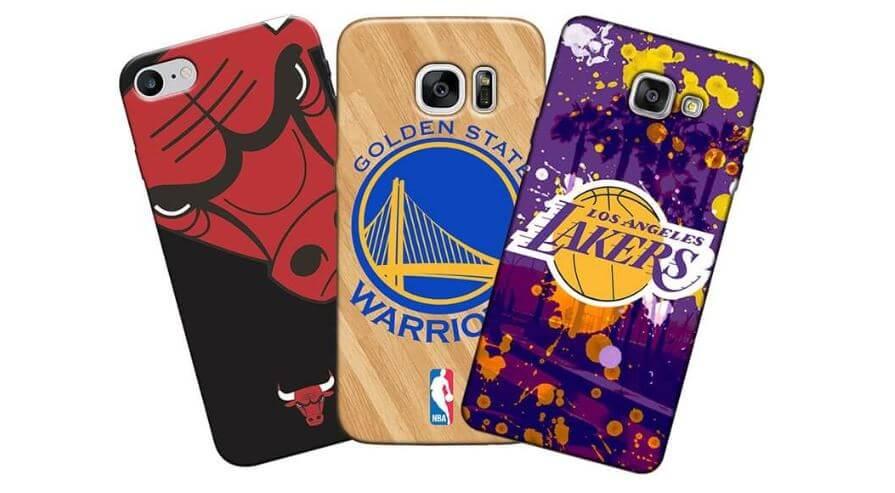 Capas de celular de times de basquete
