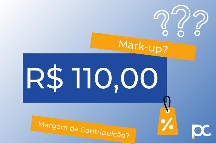 markup e margem de contribuição