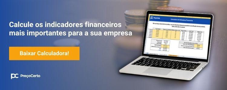 Calculadora de indicadores financeiros