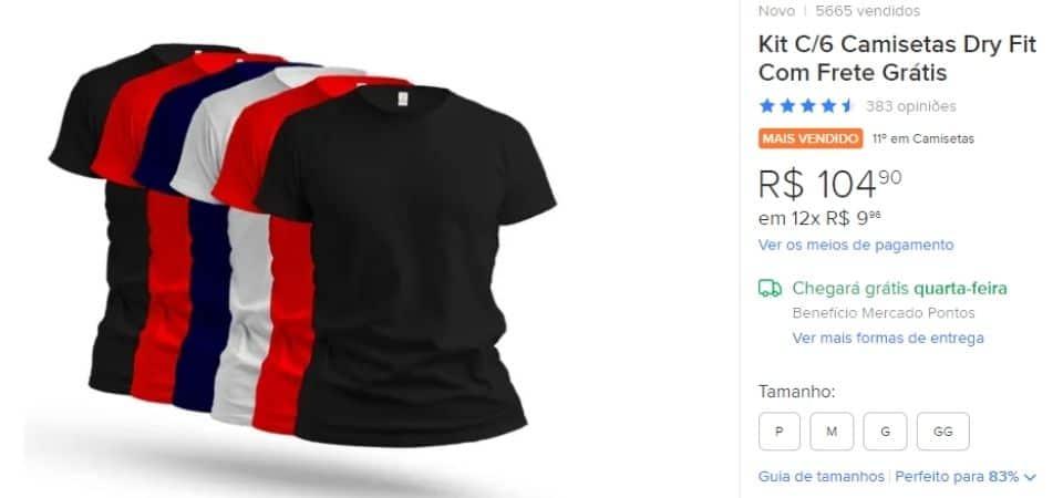 kits aumentam a margem de lucro da venda